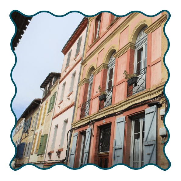 Lombez Rue Jean Moulin