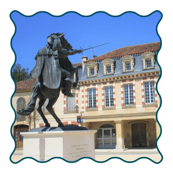 Lupiac D'artagnan Mousquetaire Adultes 2