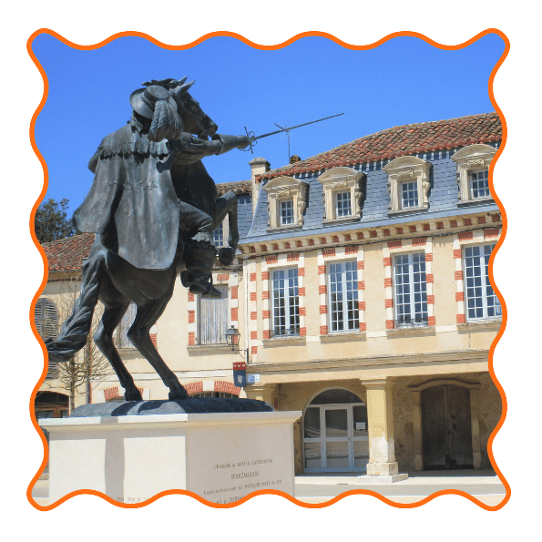 Lupiac D'artagnan Mousquetaire Famille 3